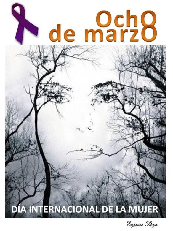 1º Cartel día de la mujer 2013 firmado