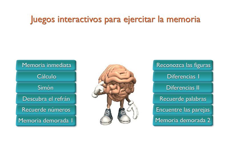JUEGOS DE MEMORIA