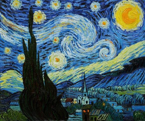 01.Van Gogh Noche estrellada