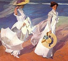 Sorolla_Walk_on_the_Beach (1)