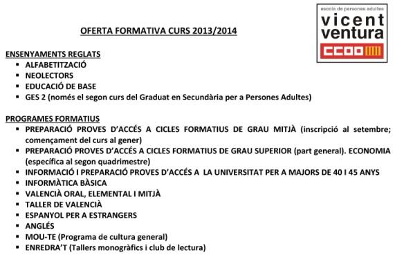 Oferta formativa 2013_2014