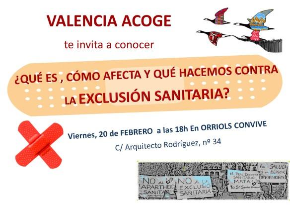 cartel charla valencia acoge