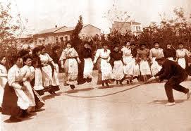 Dia de Pascua en el Turia - Año 1.903