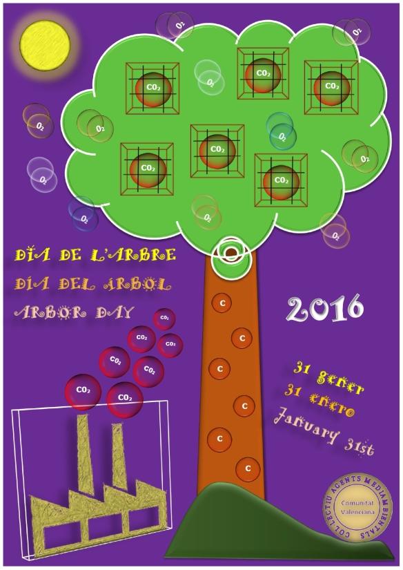 CARTELL DIA ARBRE 2016